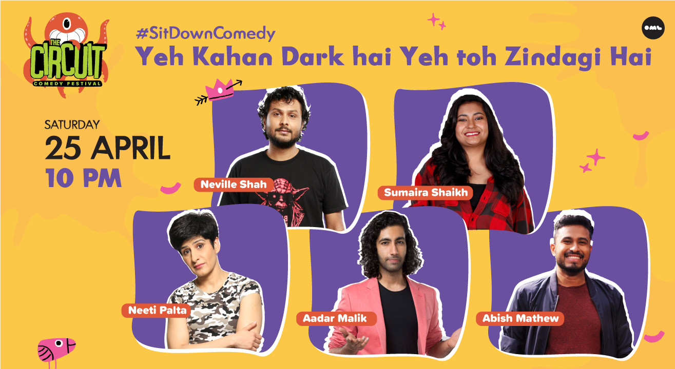 Yeh Kahan Dark hai Yeh toh Zindagi Hai ft. Neville Shah, Abish Mathew and friends