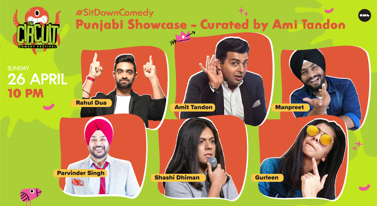 Punjabi Showcase ft. Amit Tandon and friends!