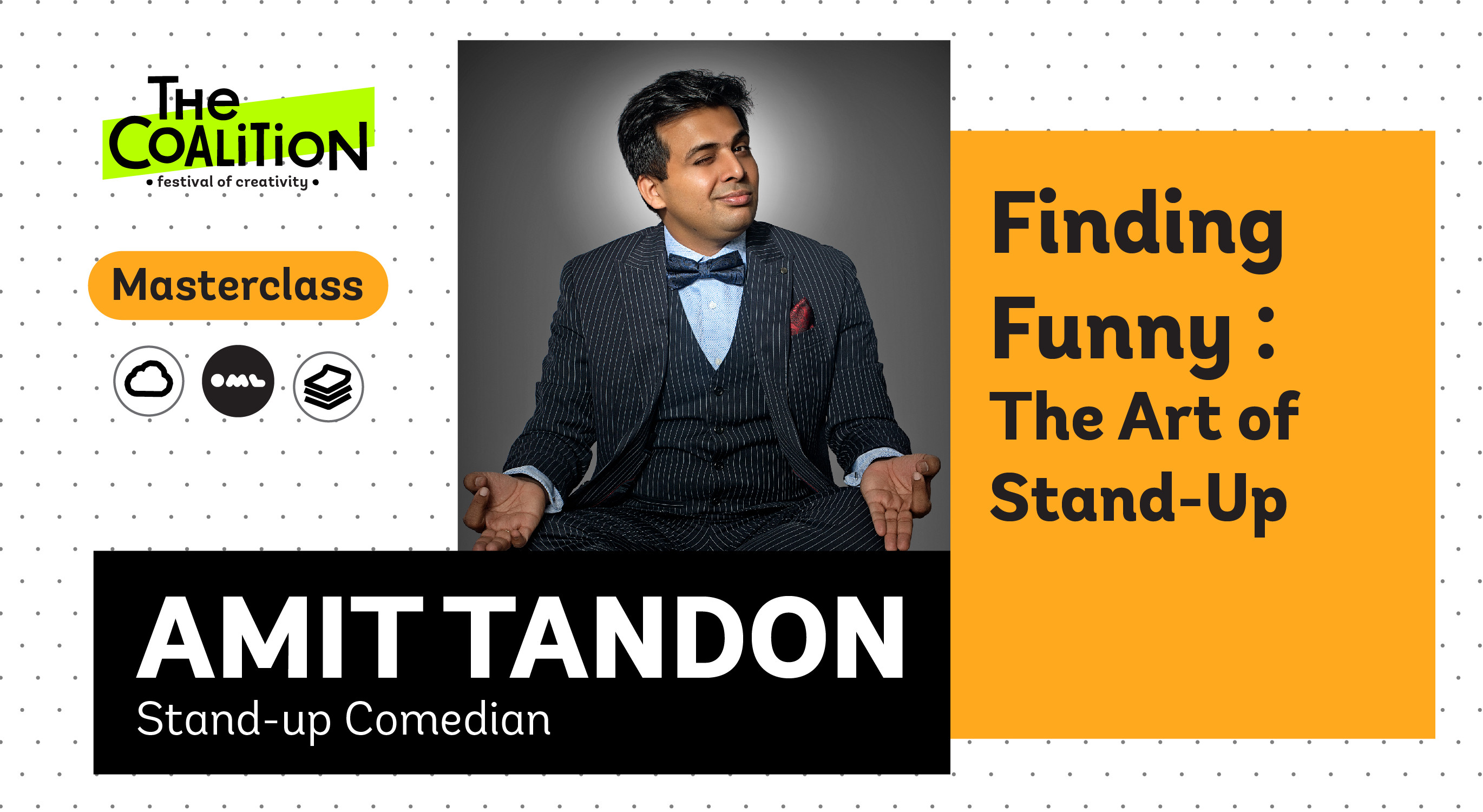 TC Masterclass: Finding Funny – The Art of Stand-Up with Amit Tandon