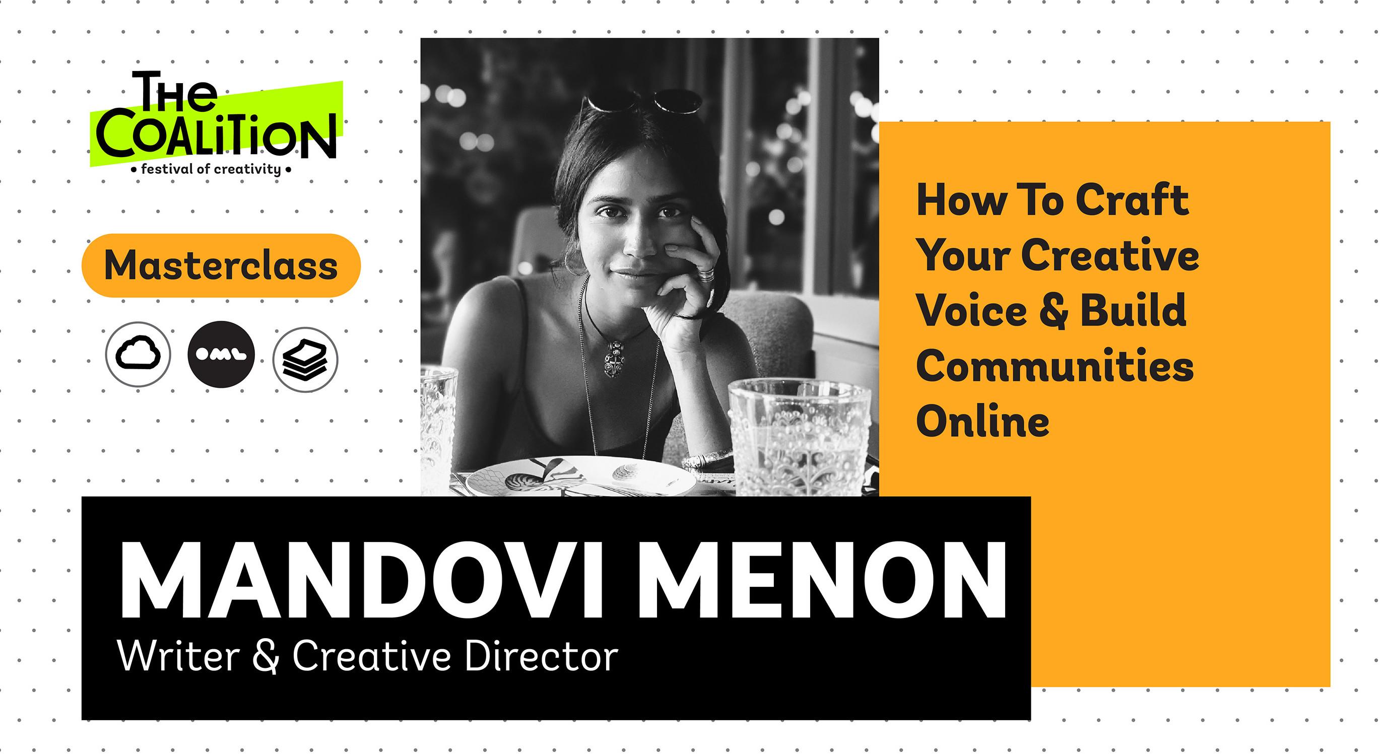 TC Masterclass: How To Craft Your Creative Voice & Build Communities Online with Mandovi Menon