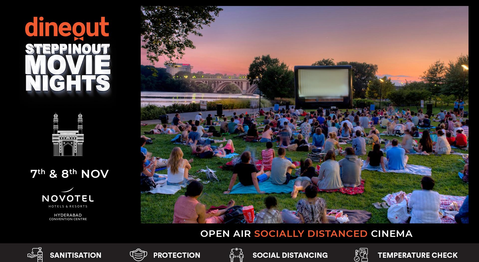 Dineout SteppinOut Movie Nights | Open Air Cinema | Superhero