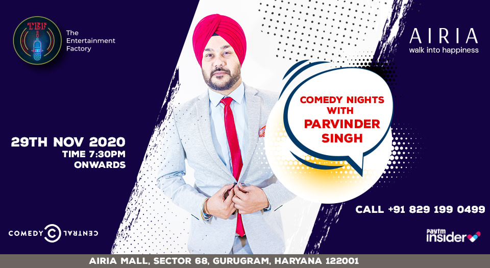 Comedy Nights with Parvinder Singh