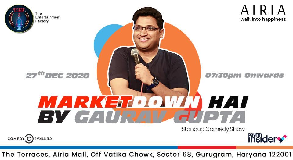 Market Down Hai by Gaurav Gupta