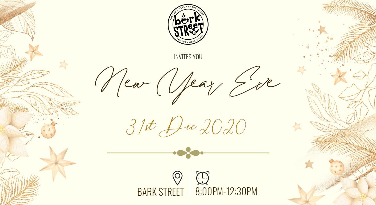 New year's eve celebration  BARK STREET