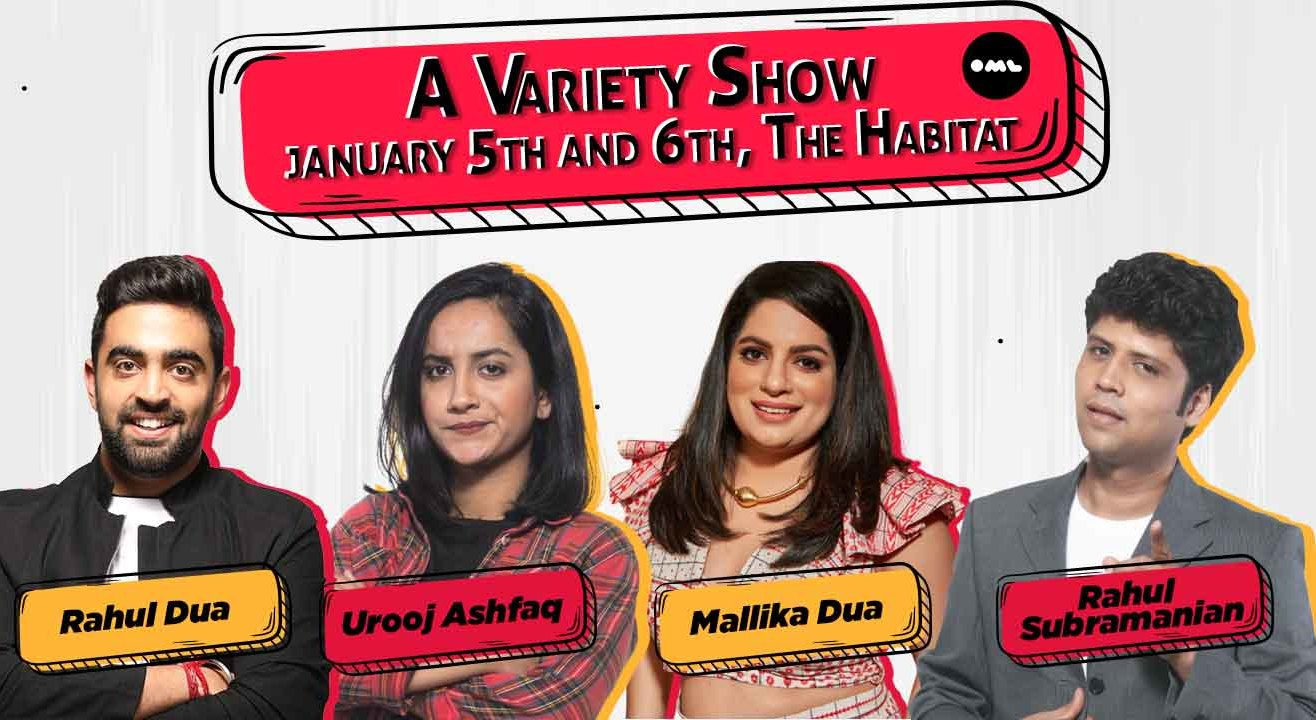 A Live Variety Show ft. Mallika Dua, Rahul Dua, Rahul Subramanian, Urooj Ashfaq