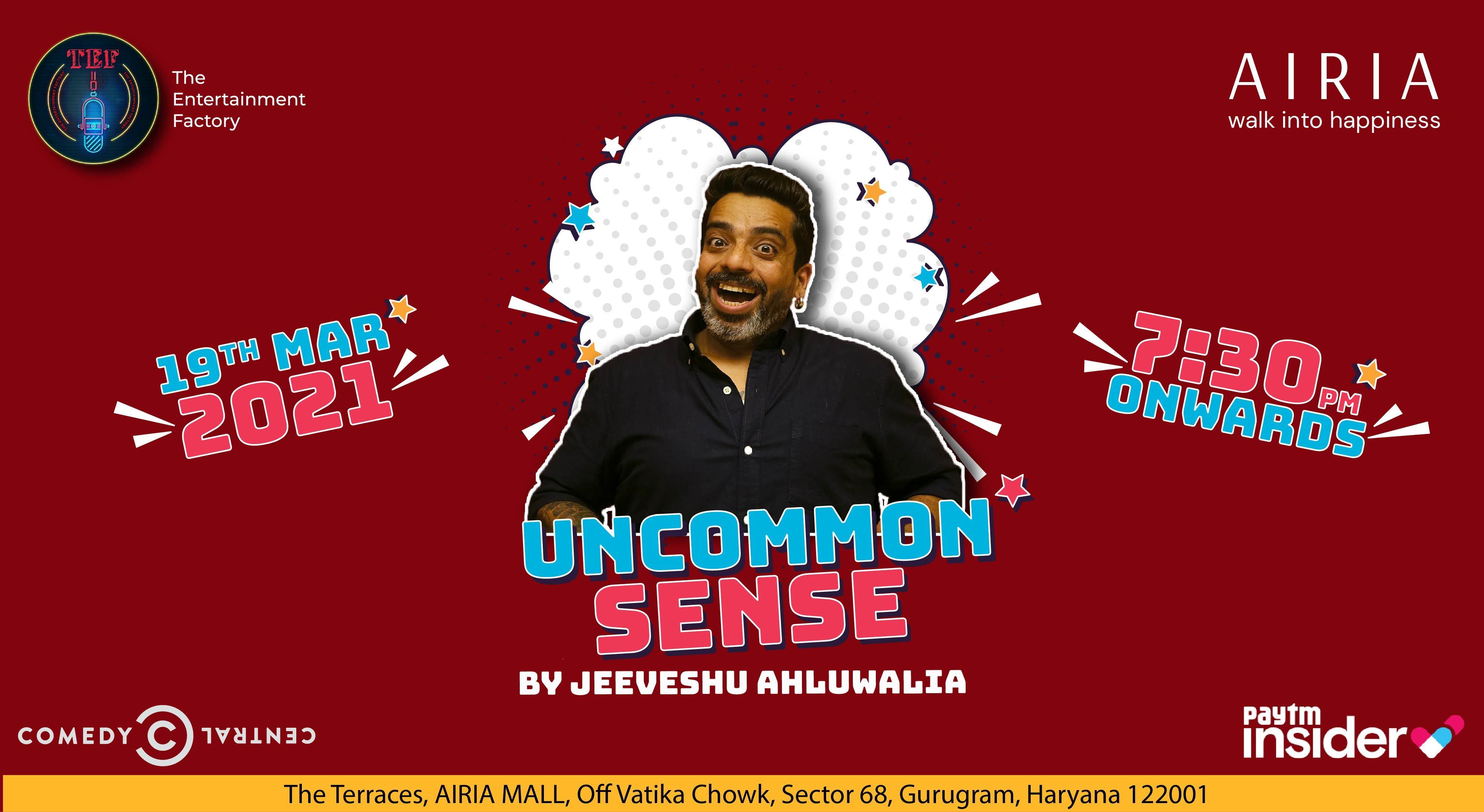 Uncommon Sense by Jeeveshu Ahluwalia