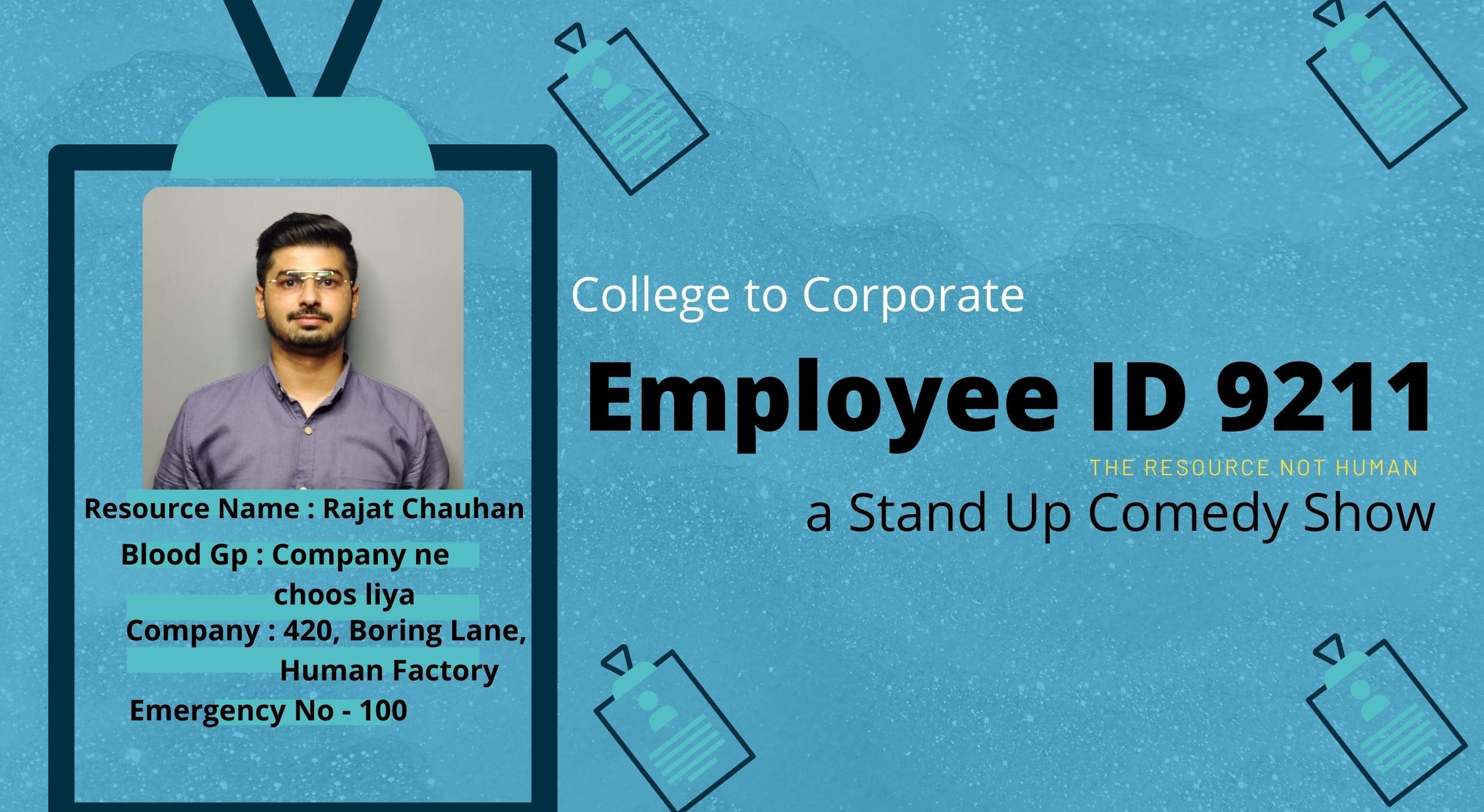 Employee Id no 9211 a Stand Up Comedy