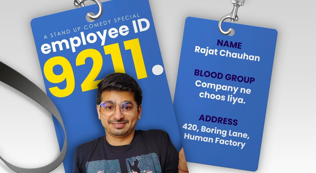 Employee Number 9211 a Stand Up Comedy Show