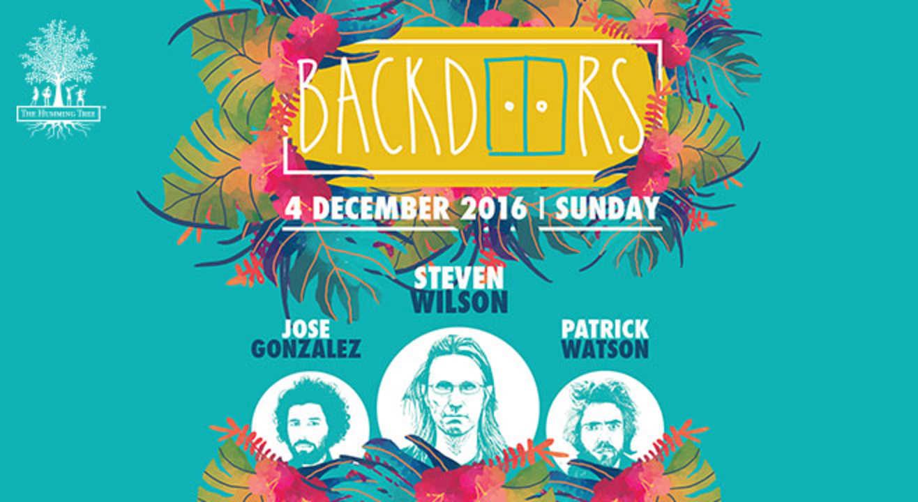 book tickets to backdoors ft steven wilson jose gonzalez and