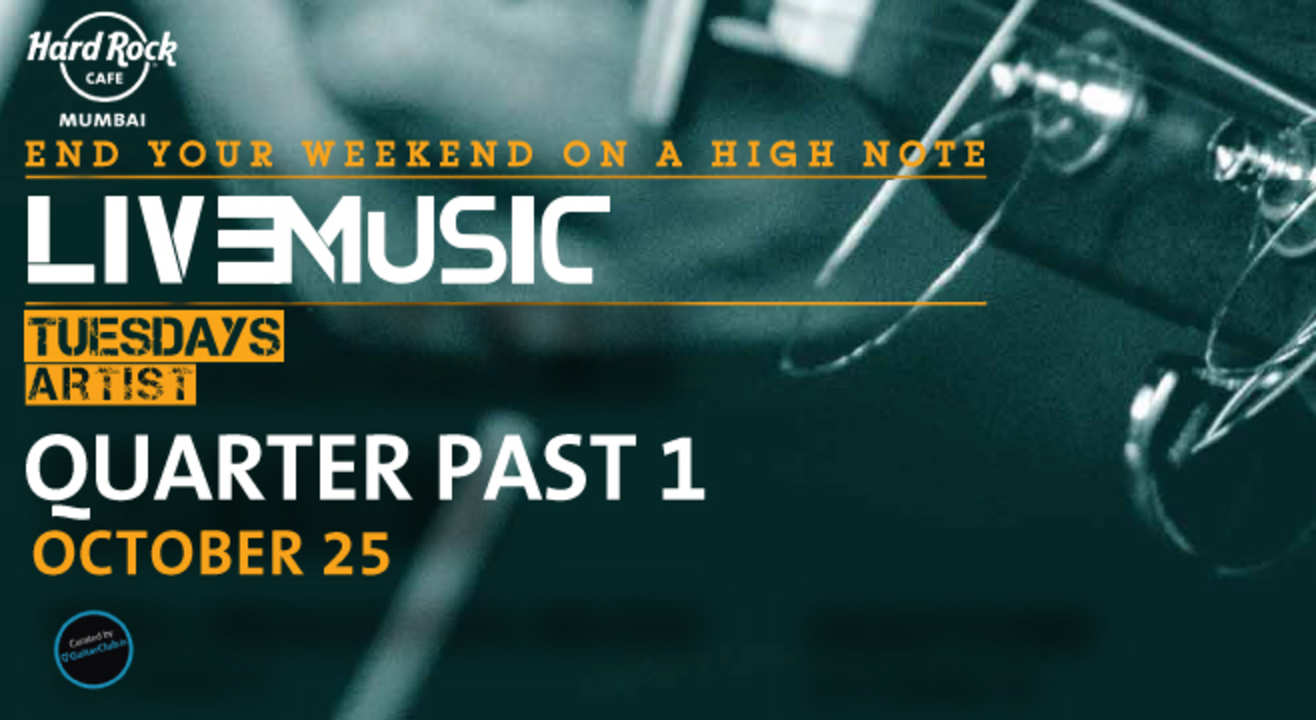 Live Music Tuesday ft. Quarter Past 1