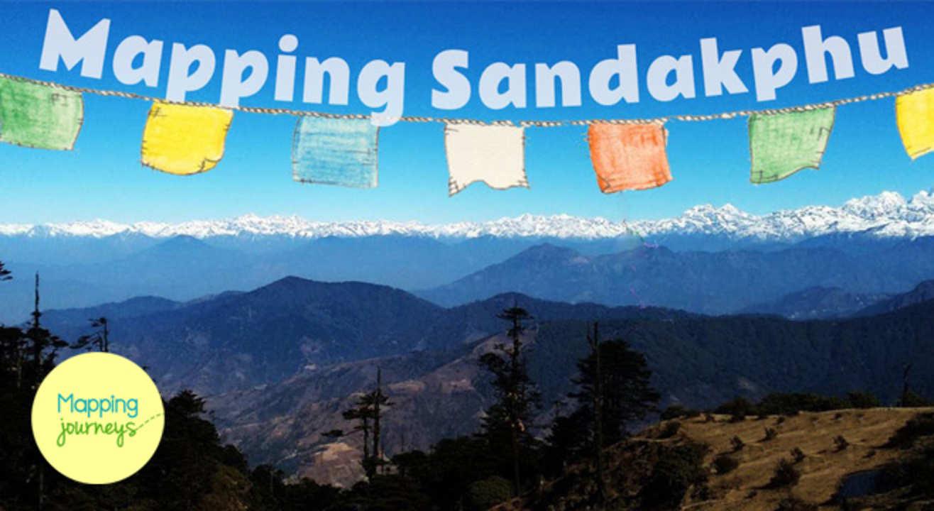 Mapping Sandakphu: A Himalayan Trek