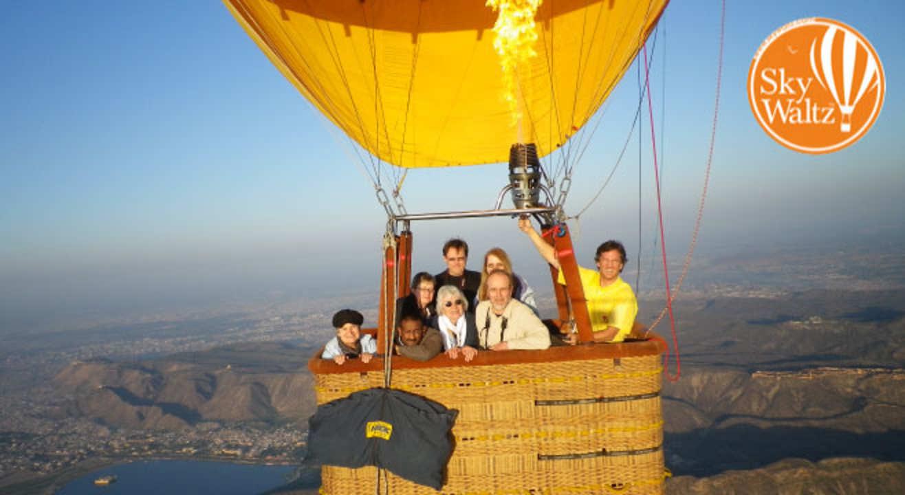 Hot Air Balloon Safari in Lonavala