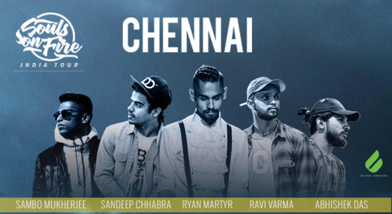 Souls On Fire - India Tour - Chennai