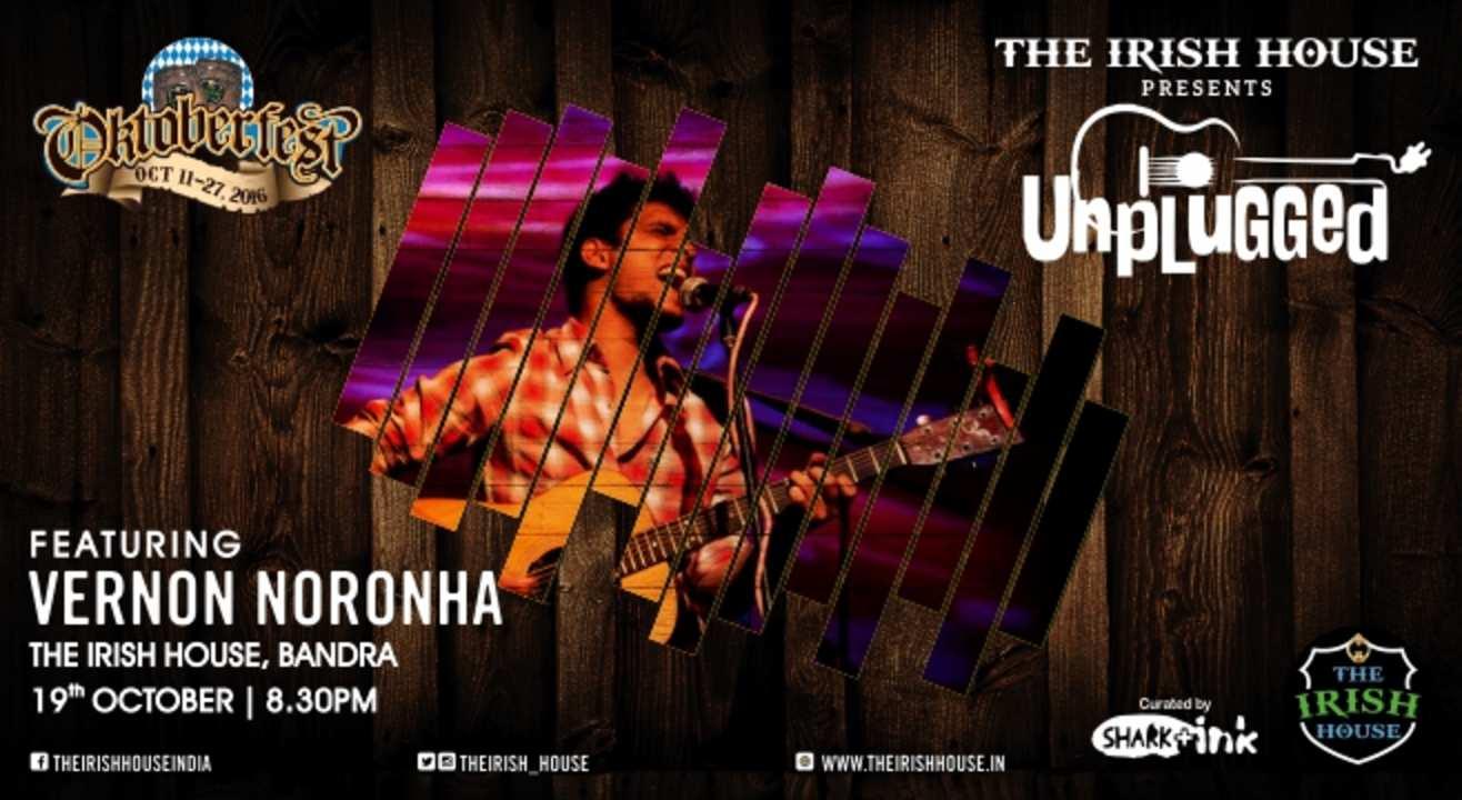 The Irish House presents: Unplugged with Vernon Nornonha
