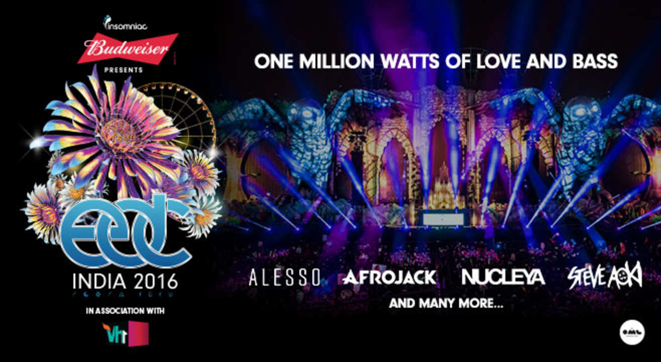book tickets to budweiser presents edc india