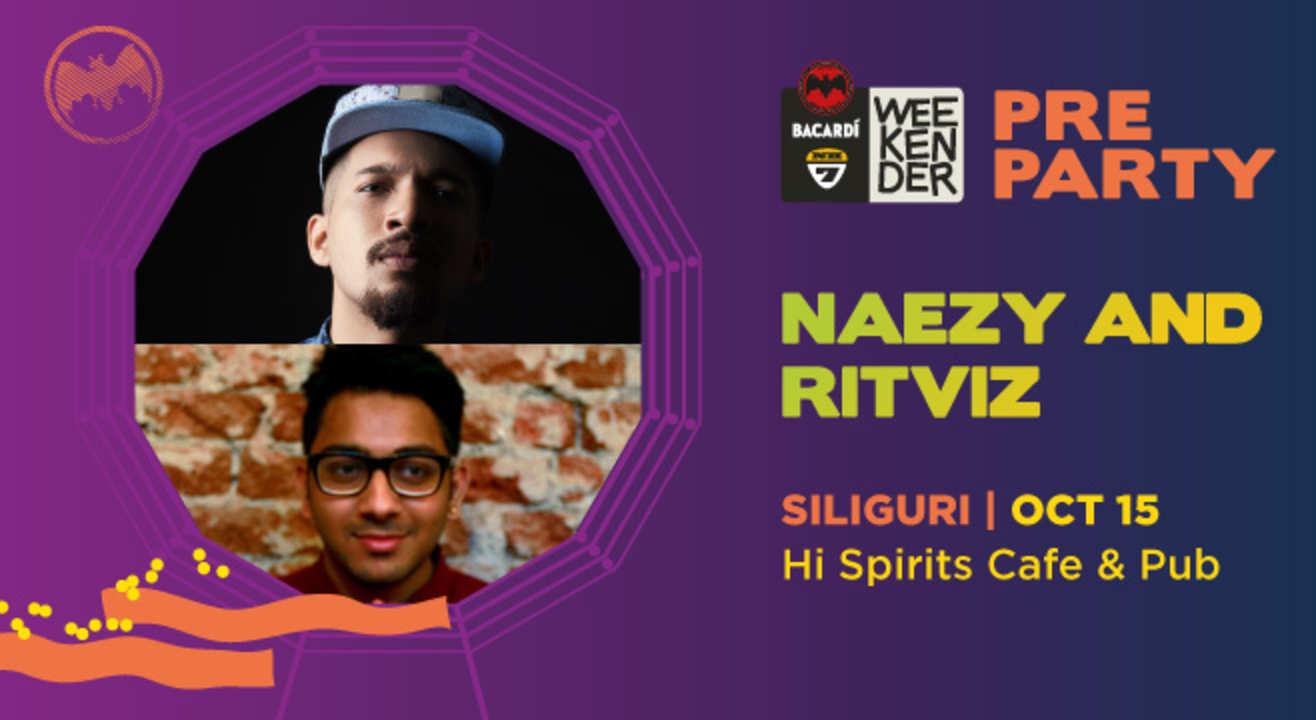 Bacardi NH7 Weekender Pre Party ft Naezy & Ritviz
