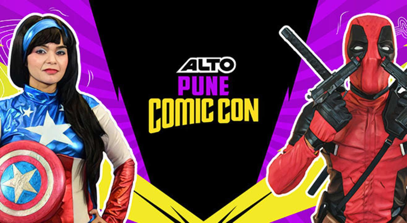 Alto Pune Comic Con 2017!