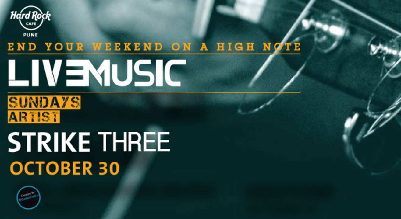 Live Music Sundays ft. Strike Three