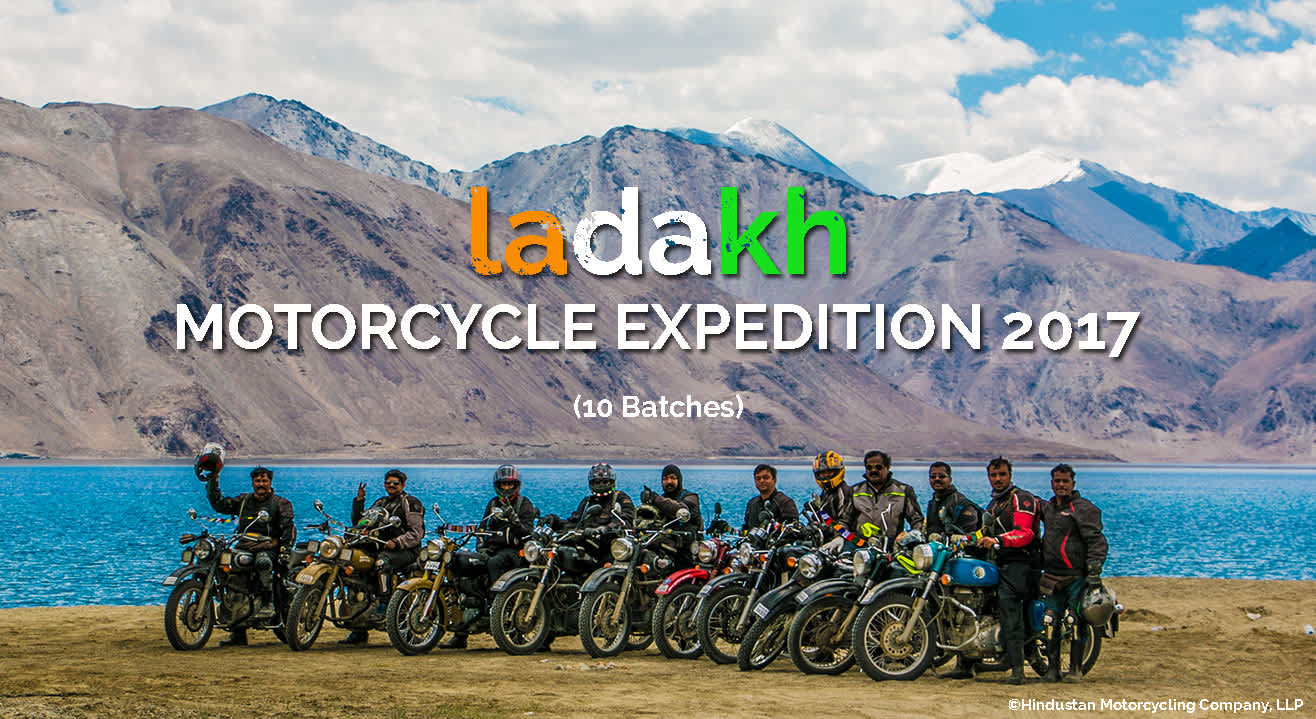 Ladakh Motorcycle Expedition 2017