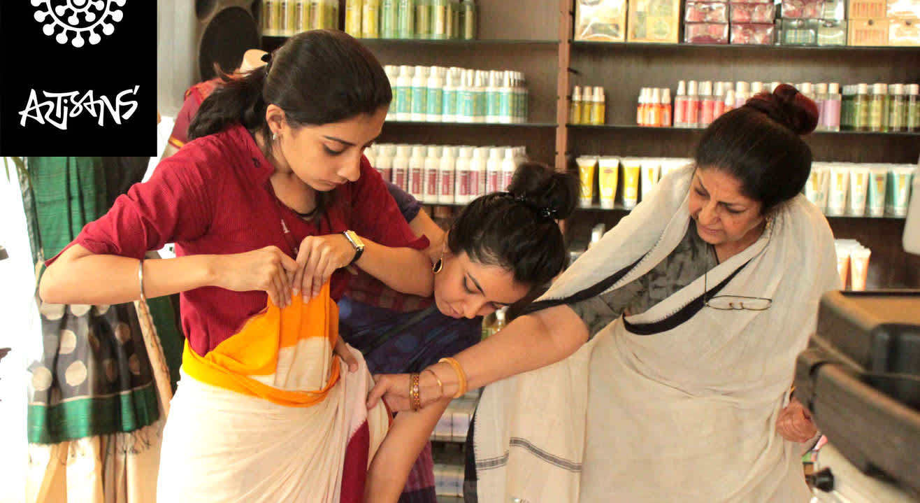 The Sari School – Draping Workshop by Rta Kapur Chishti