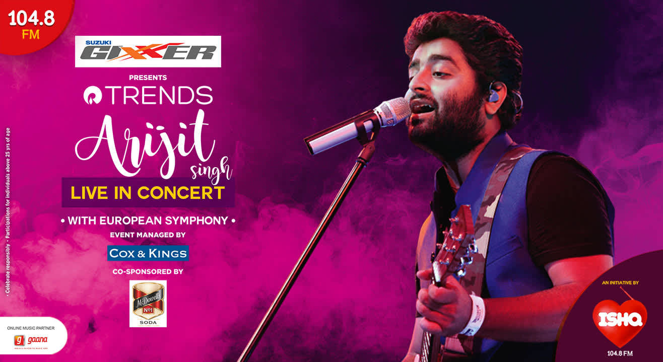 Arijit Singh Live in Concert with Grand Symphony