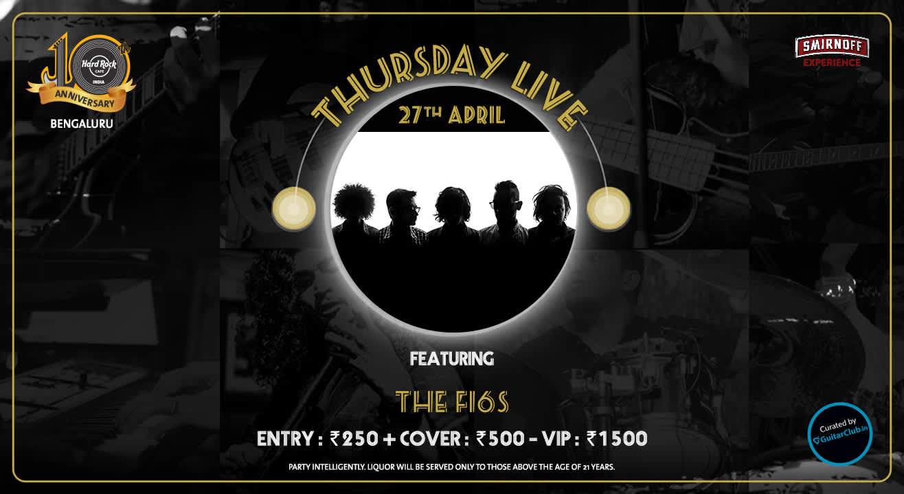 The F16s - Thursday Live!