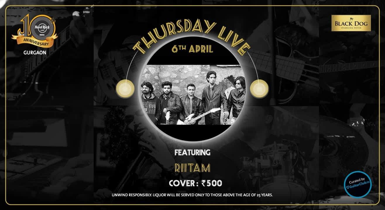 Riitam - Thursday Live!
