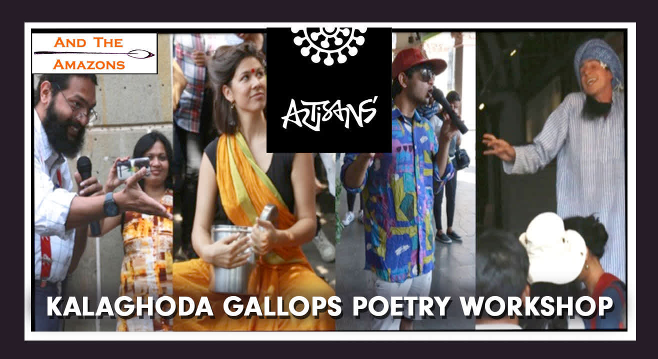Kalaghoda Gallops Poetry Workshop By And The Amazons Poetry Collective