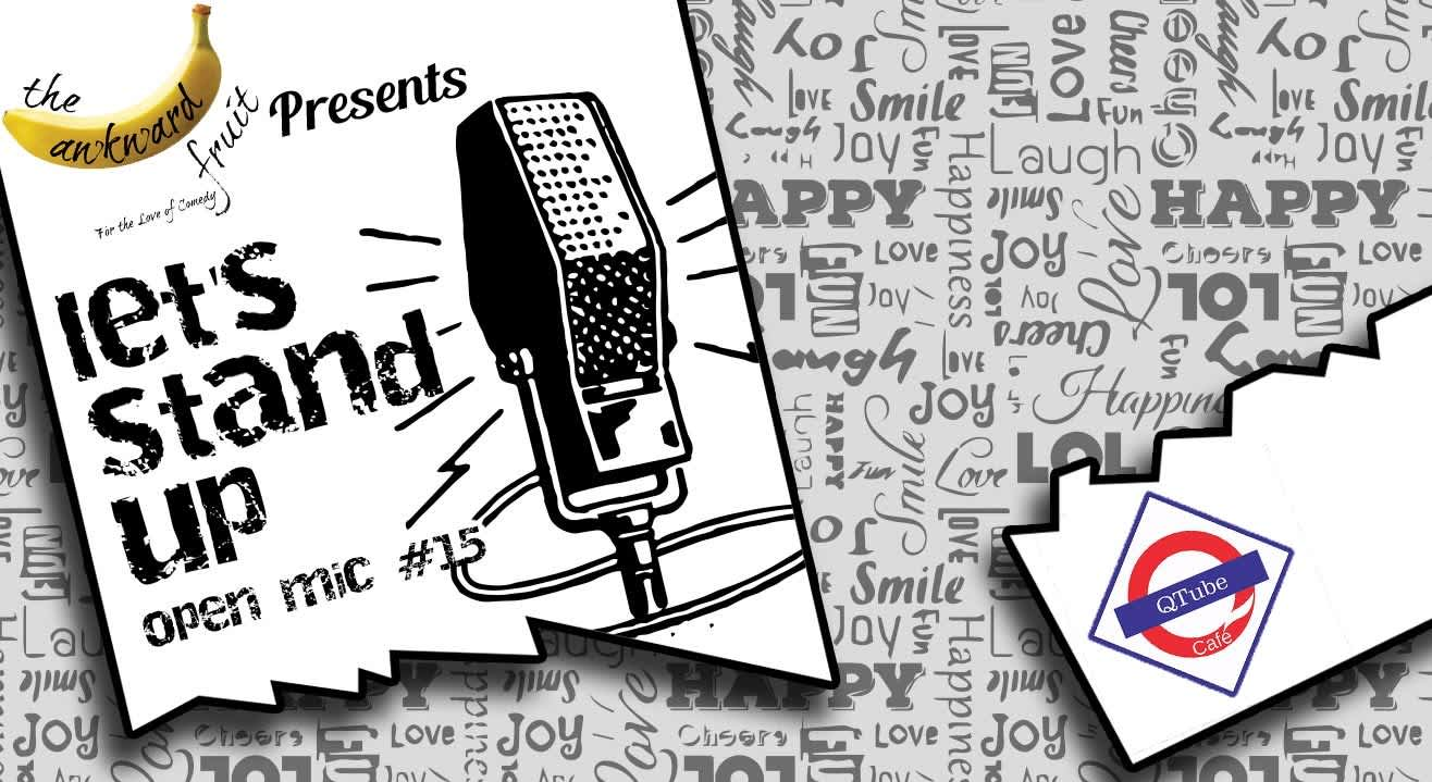 Let's Stand Up Open Mic #15