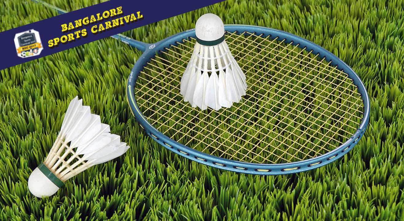 Bangalore Sports Carnival 2017 - Kids Badminton Championship