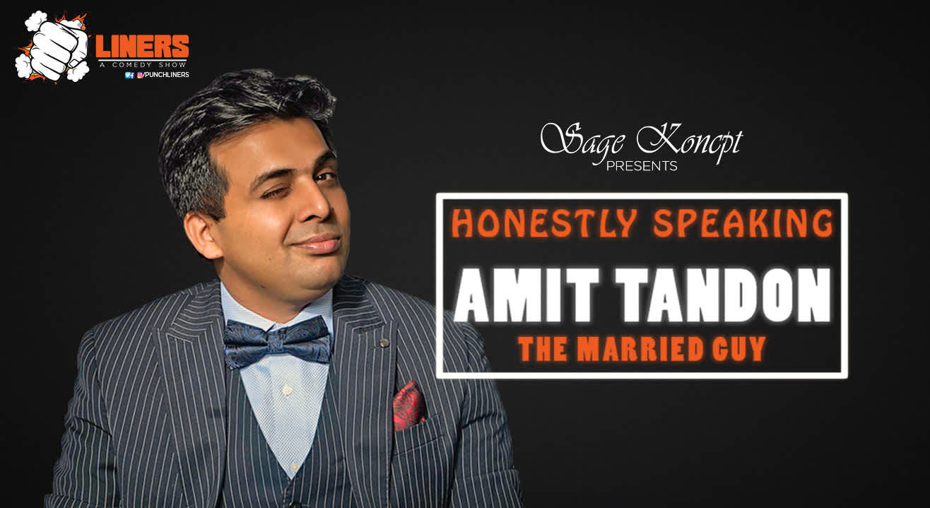 Punchliners: Standup Comedy Show ft. Amit Tandon, Pune