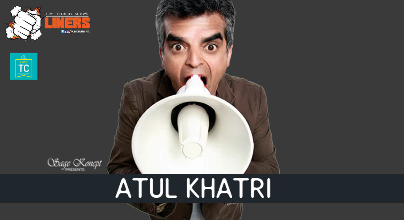 Punchliners: Stand Up Comedy Show feat. Atul Khatri, Delhi