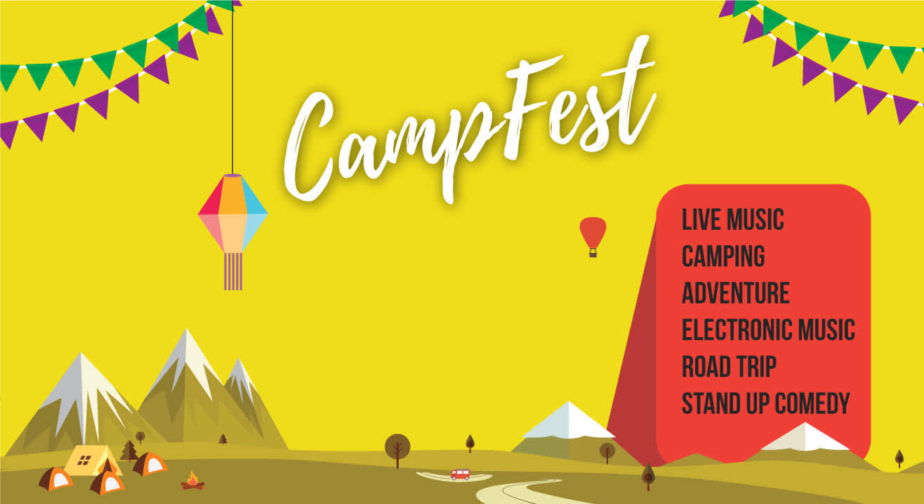 CampFest   Music, Adventure, Stand Up & More
