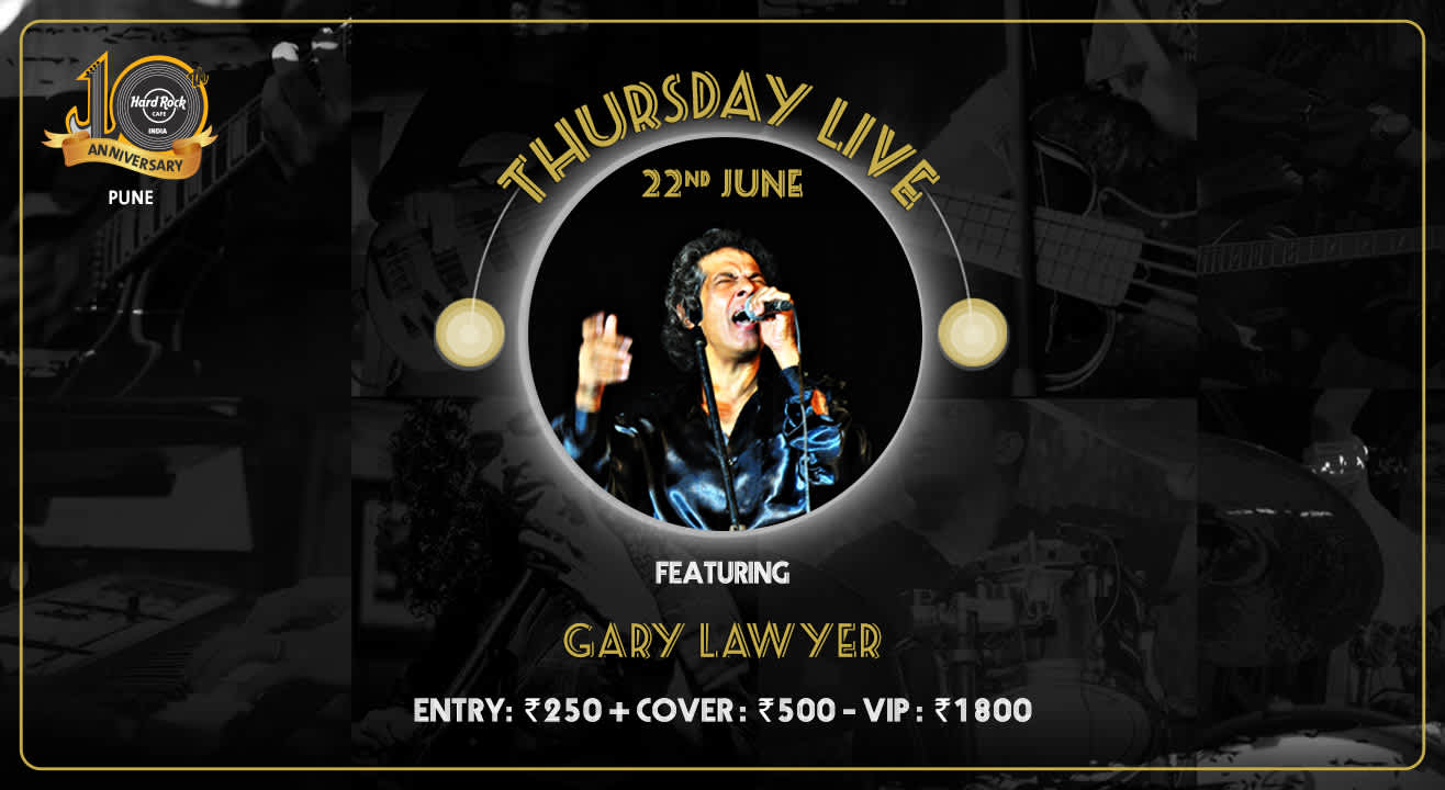 Gary Lawyer - Thursday Live!