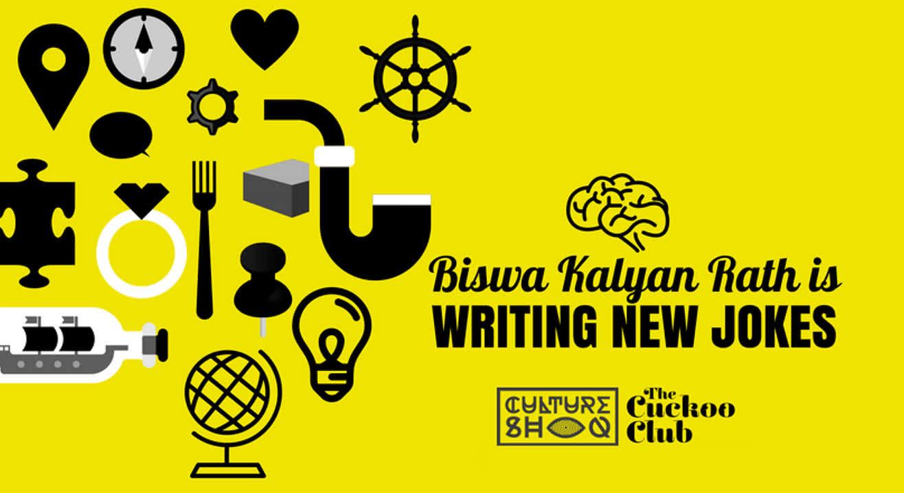 Biswa Kalyan Rath is Writing New Jokes