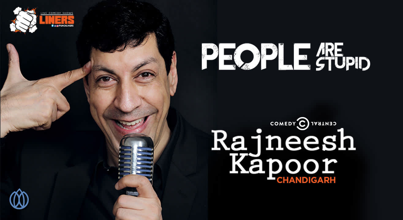 Punchliners: Stand Up Comedy Show feat. Rajneesh Kapoor in Chandigarh