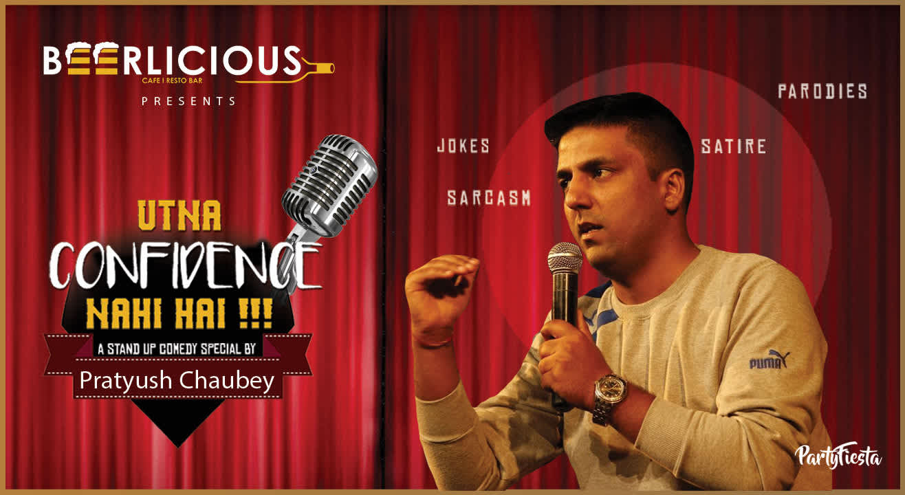Stand Up Comedy Show feat. Pratyush Chaubey  in Jaipur