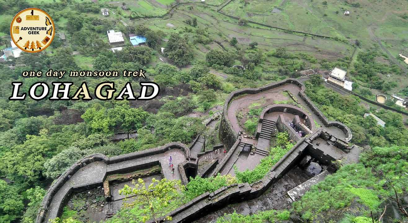 One Day Monsoon Trek To Lohagad