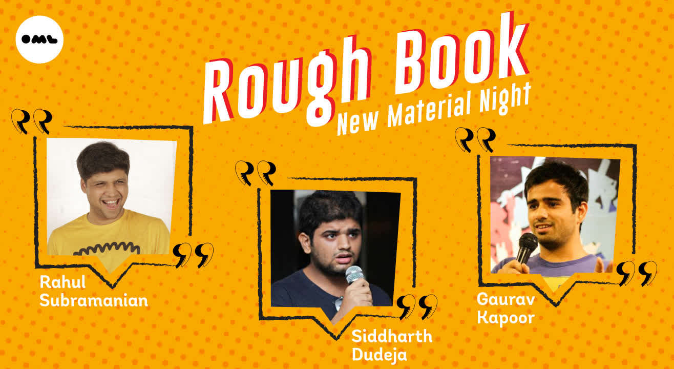 Rough Book- New Material Night