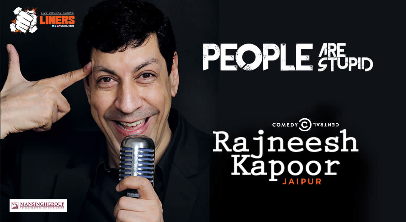 Punchliners: Stand Up Comedy Show feat. Rajneesh Kapoor in Jaipur