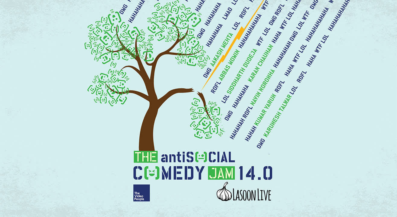 The antiSOCIAL Comedy Jam 14.0
