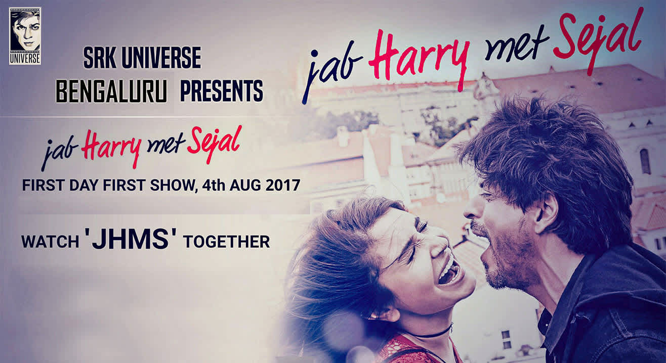 First Day First Show of Jab Harry Met Sejal with SRK Universe