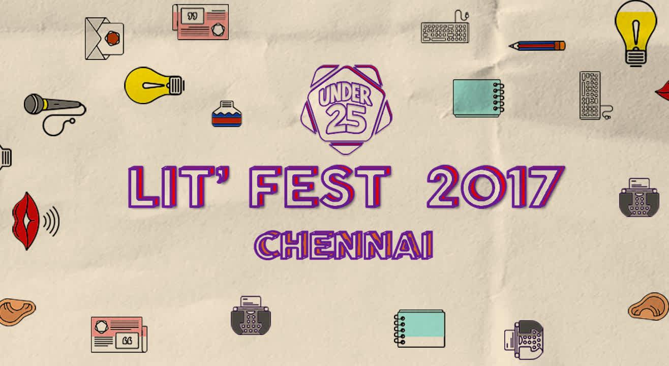 Under 25 Lit Fest 2017, Chennai