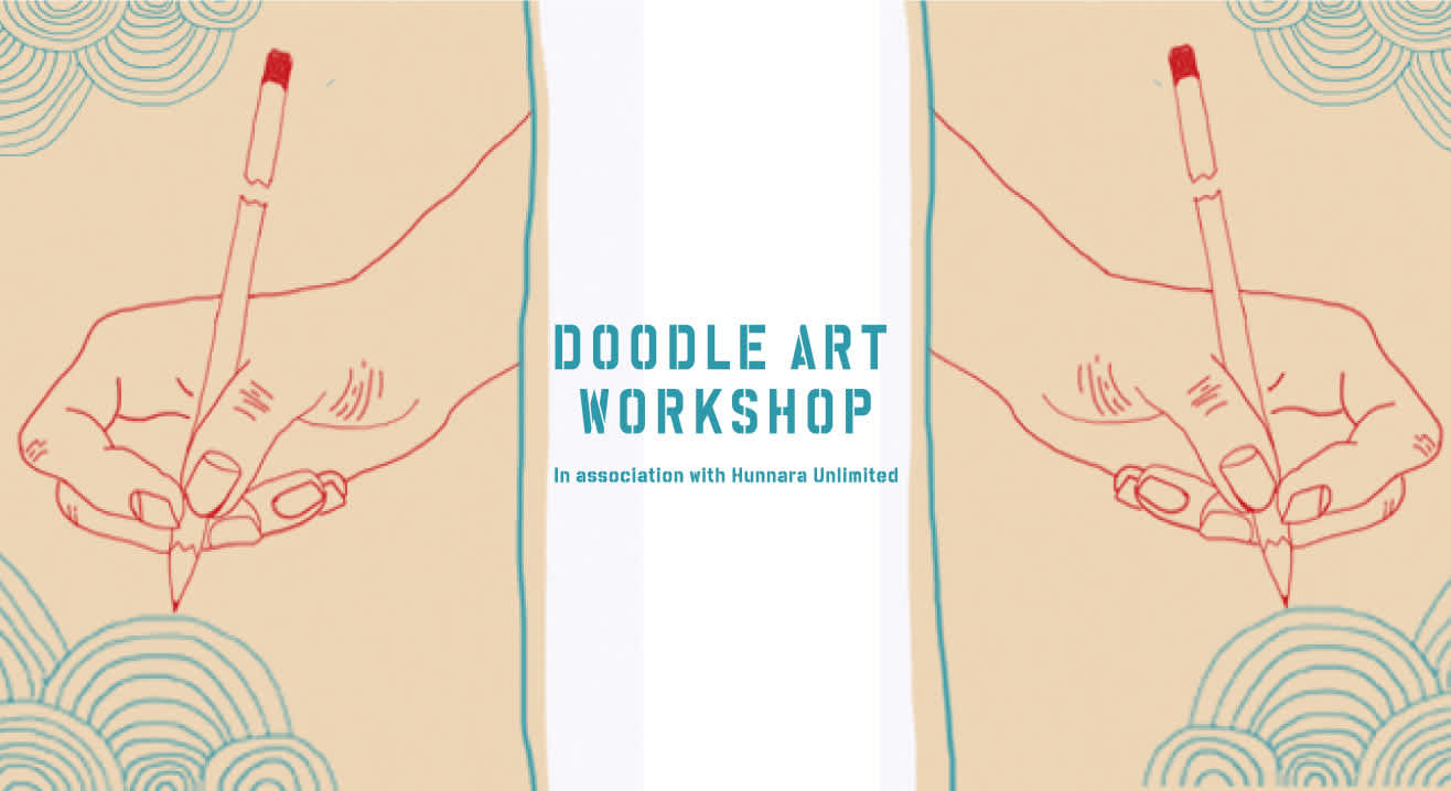 Doodle Art Workshop at #FunRepublicSocial