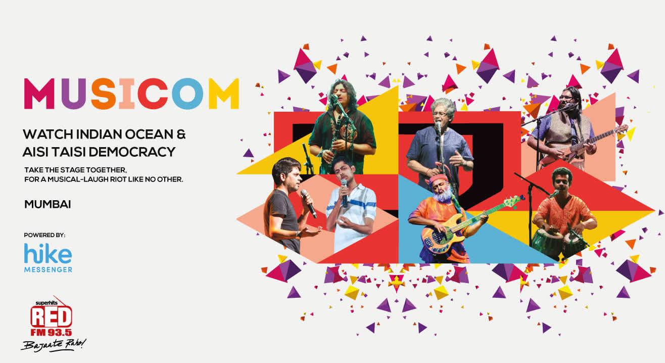 MusiCom ft. Aisi Taisi Democracy and Indian Ocean, Mumbai
