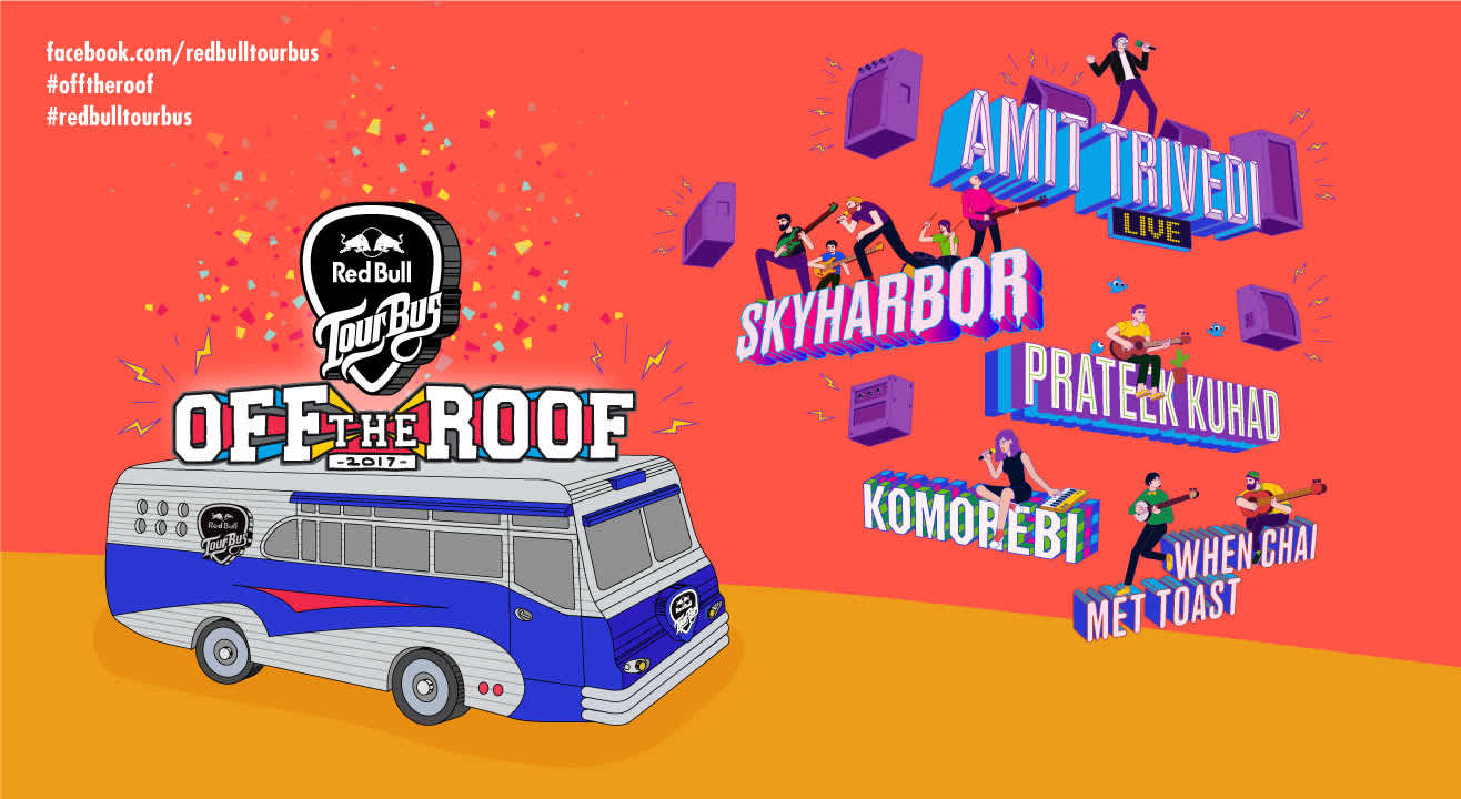 Red Bull Tour Bus Off The Roof 2017