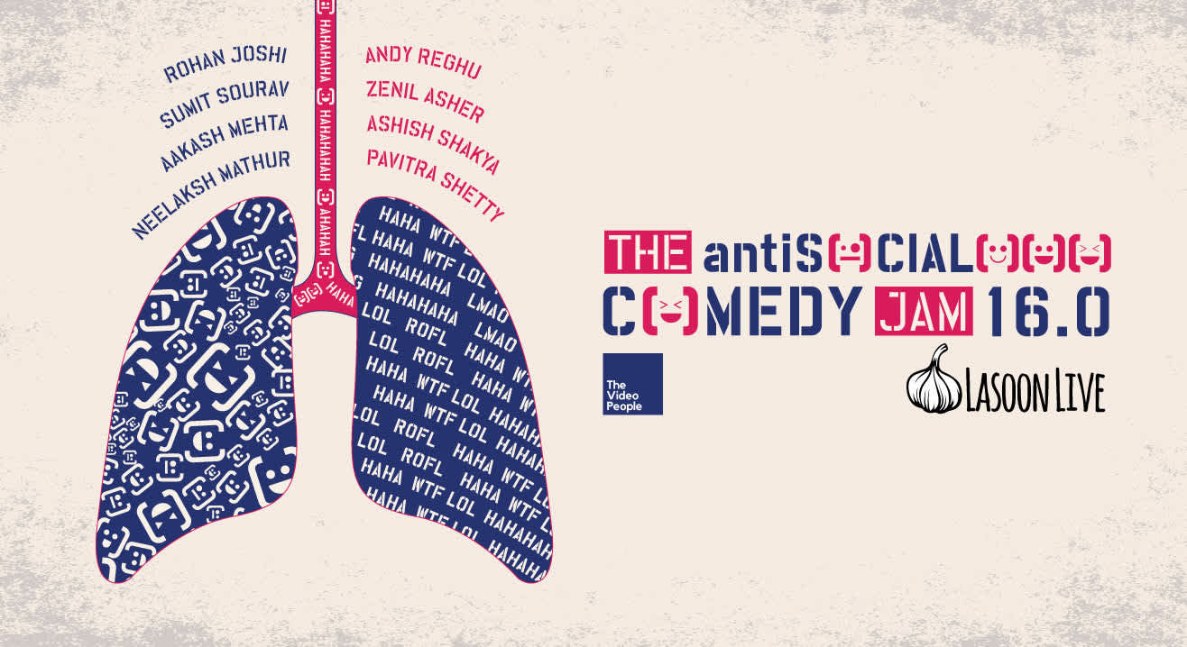 antiSOCIAL Comedy Jam Vol. 16 ft. Rohan Joshi, Ashish Shakya and more!