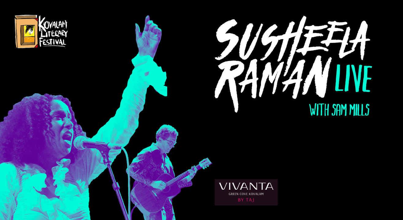 Susheela Raman live at Kovalam Litfest