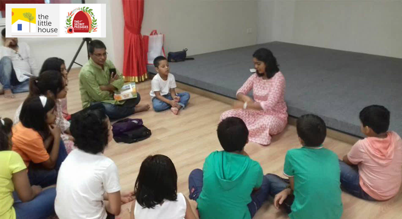 Effective communication through story-telling: A workshop for kids
