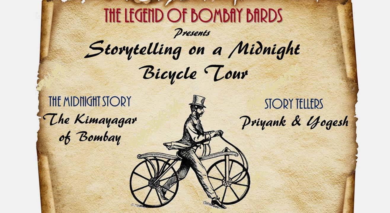 Midnight Cycling & Storytelling event : The Kimayagar of Bombay